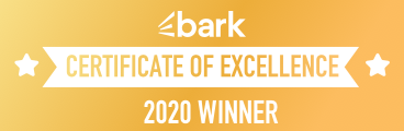 Bark Certificate of Excellence Winner